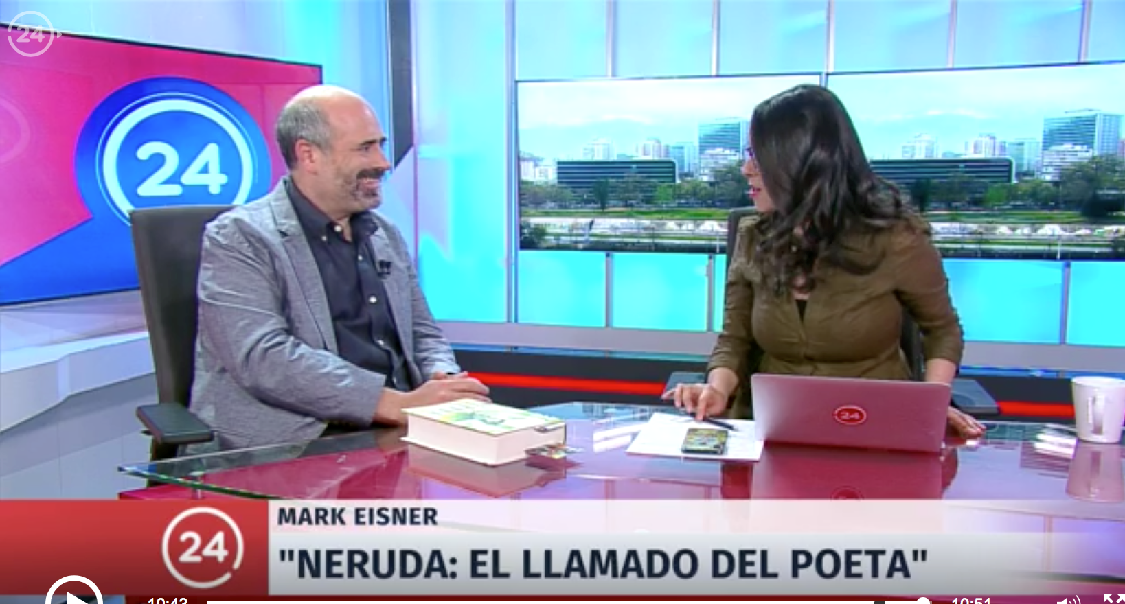 Mark Eisner en TVN Chile